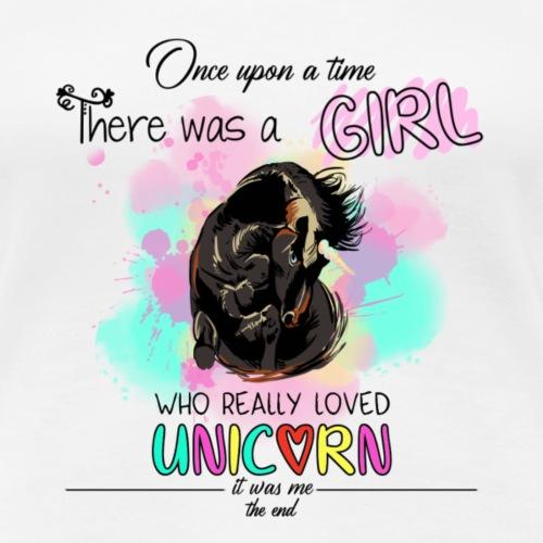love unicorn - T-shirt Premium Femme