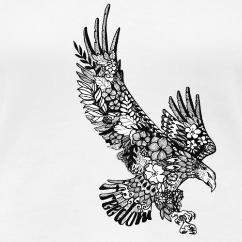 Freedom-Adler - Frauen Premium T-Shirt