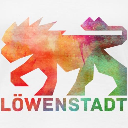 Löwenstadt Design 5 - Frauen Premium T-Shirt