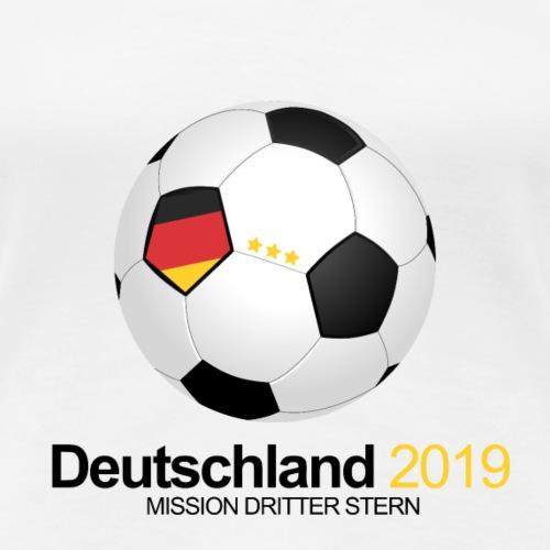 Frauen Fussball WM 2019 Deutschland - Frauen Premium T-Shirt