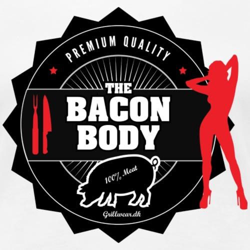 baconbody png - Dame premium T-shirt