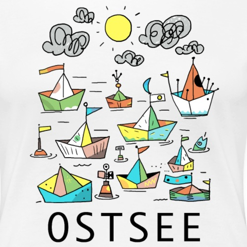 Ostsee - Frauen Premium T-Shirt
