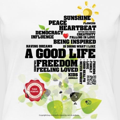 GOODLIFE png - Dame premium T-shirt