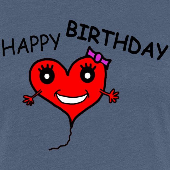 Herz Smiley Geburtstag