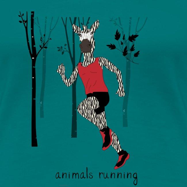 Zèbre running