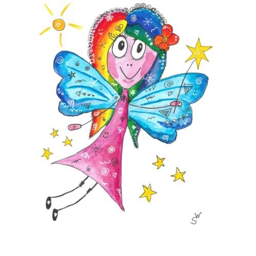 Happy Fairy 2 - Frauen Premium T-Shirt