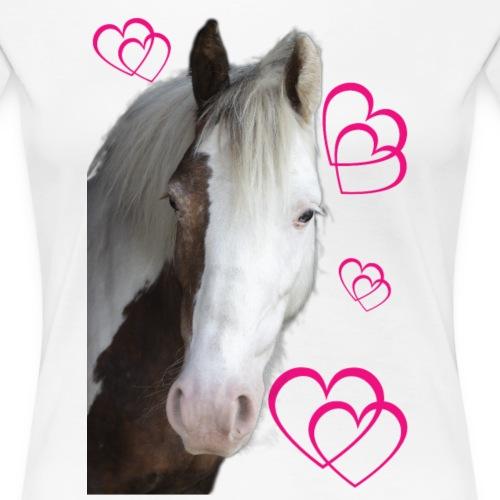 Hästälskare (Daisy) - Premium-T-shirt dam