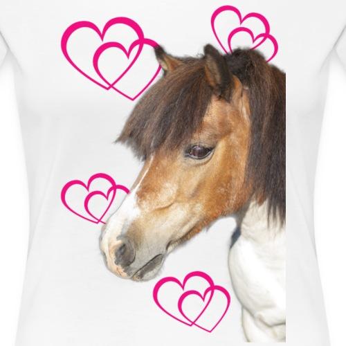 Hästälskare (Bella) - Premium-T-shirt dam