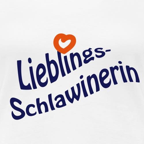 Lieblings-Schlawinerin - Frauen Premium T-Shirt