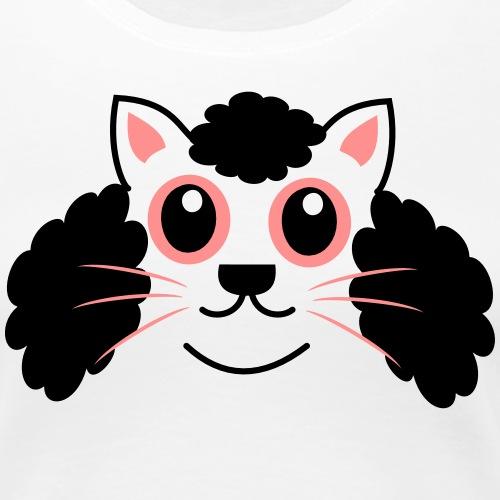 Afro Kitty - Women's Premium T-Shirt