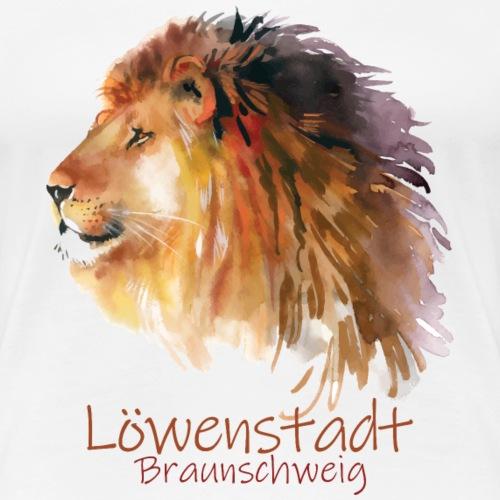 Löwenstadt Design 10 - Frauen Premium T-Shirt