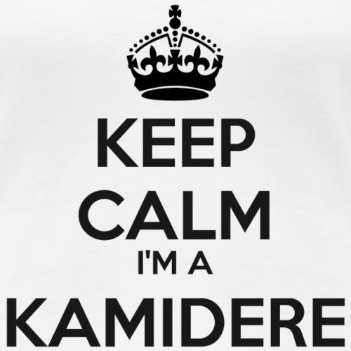 Kamidere keep calm - Women's Premium T-Shirt