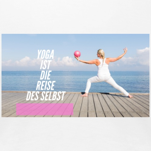 Yoga Reise - Frauen Premium T-Shirt