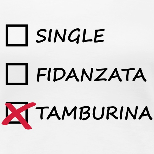 single fidanzata tamburina