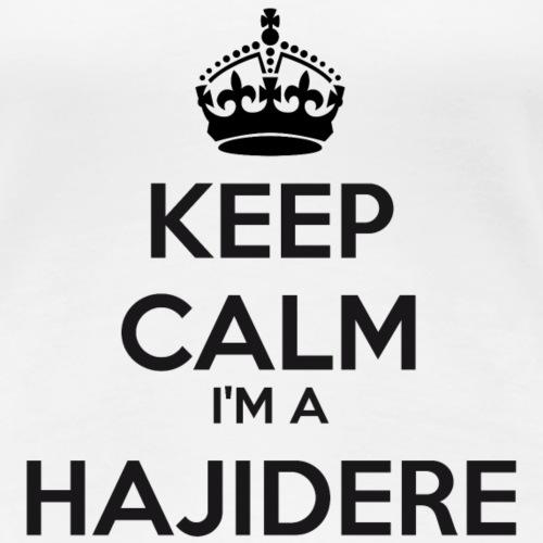 Hajidere keep calm - Women's Premium T-Shirt