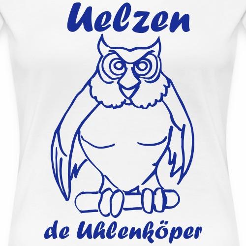 Uelzer Eule - Frauen Premium T-Shirt