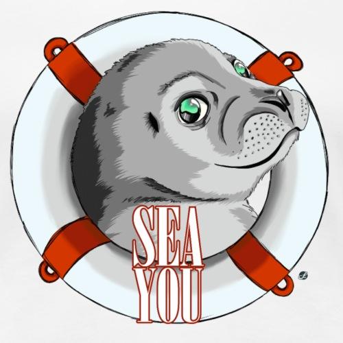 Sea You - Rettungsreifen - Frauen Premium T-Shirt
