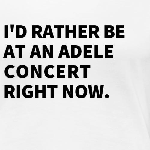 Je préfère être à un concert t shirt