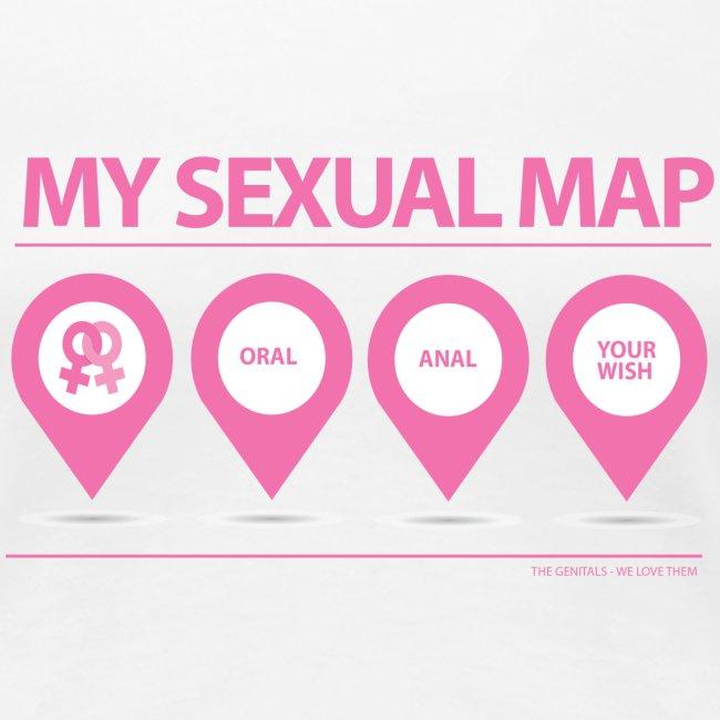 MY SEX MAP LESBIAN