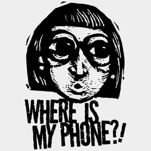 téléphone portable accro - T-shirt Premium Femme