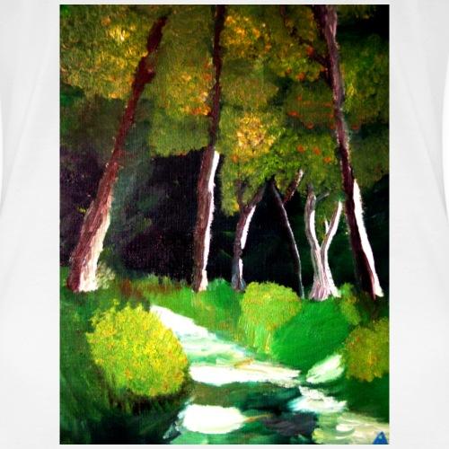 Waldluft - Frauen Premium T-Shirt