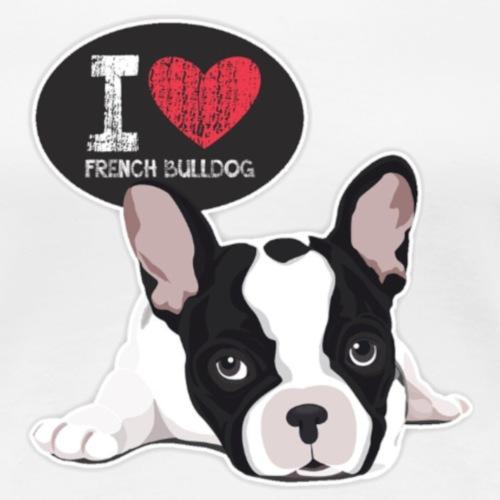 bulldog francese 3 - Maglietta Premium da donna