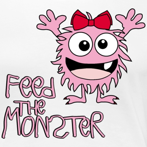 Feed the Monster - Rosa