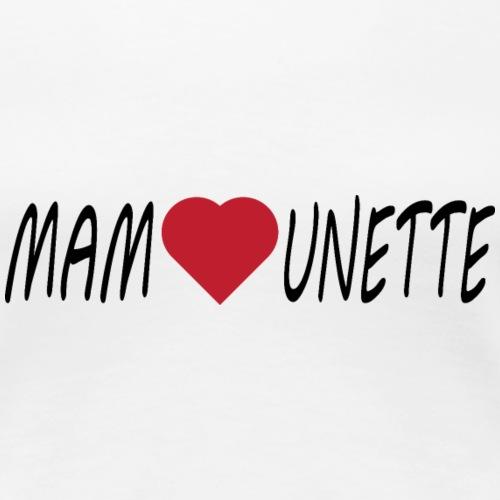 Mamounette - T-shirt Premium Femme