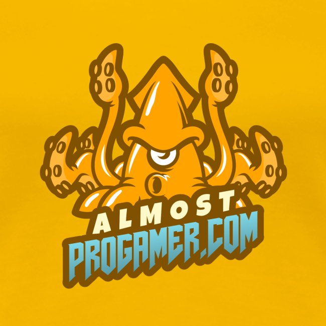 gaming logo maker featuring a squid monster 1847f