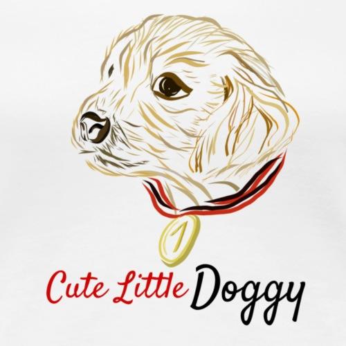 Cute Little Doggy - Frauen Premium T-Shirt