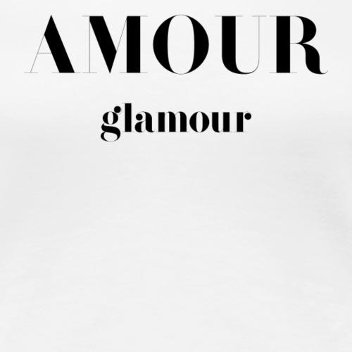T-shirt Vintage femme Amour Glamour - Women's Premium T-Shirt