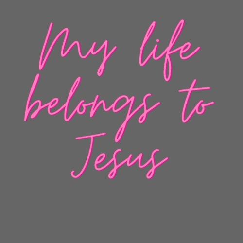 My life belongs to Jesus - Frauen Premium T-Shirt