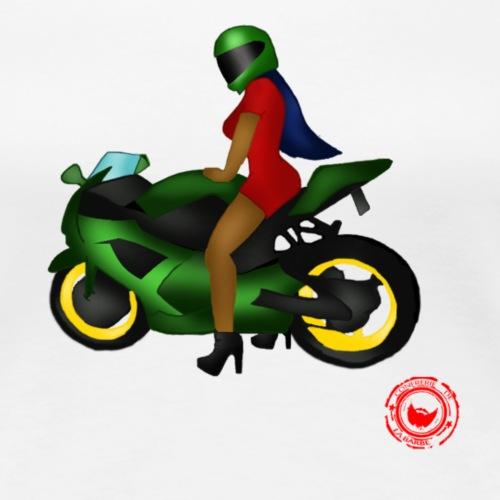 moto - Women's Premium T-Shirt