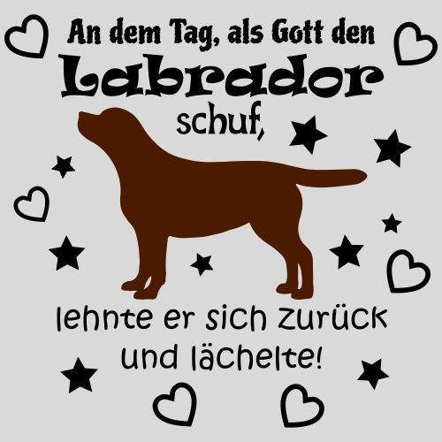 Gott schuf Labrador (braun) - Frauen Premium T-Shirt