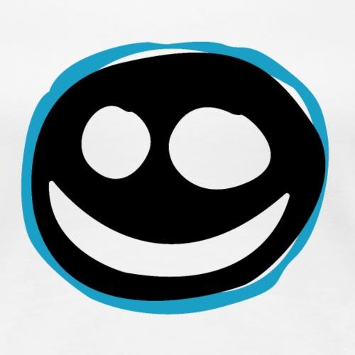 Black Smile - Maglietta Premium da donna