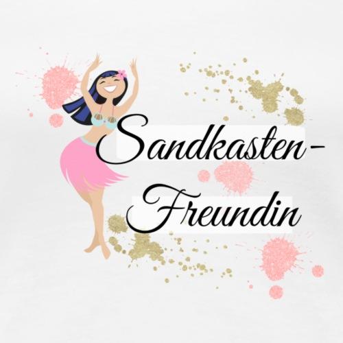 My Maisie Sandkasten Freundin - Mama Freundin - Frauen Premium T-Shirt