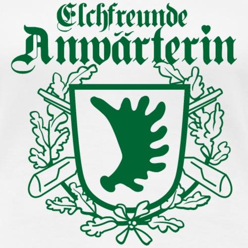 Holzheimer Elchfreunde Wappen weiblich - Frauen Premium T-Shirt