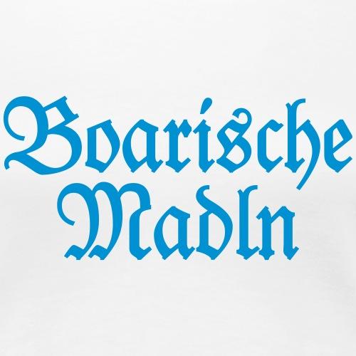 Boarische Madln (Blau) Bayern Mädels Frauen - Frauen Premium T-Shirt