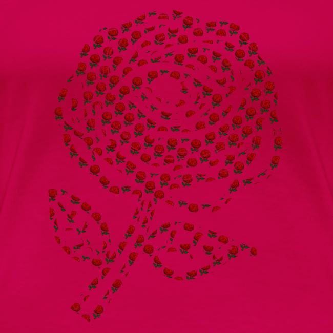 Rose aus Rosen