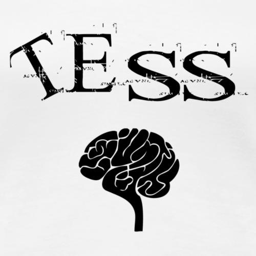 Tess - schwarz - Frauen Premium T-Shirt