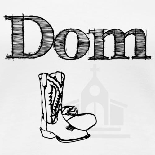 Dom - schwarz - Frauen Premium T-Shirt