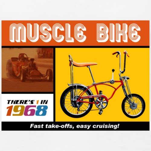 musclebike05 - T-shirt Premium Femme