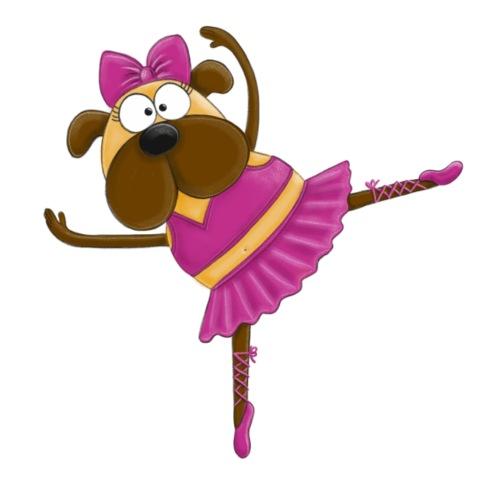 Konstantine die Ballerina - Mops - Frauen Premium T-Shirt