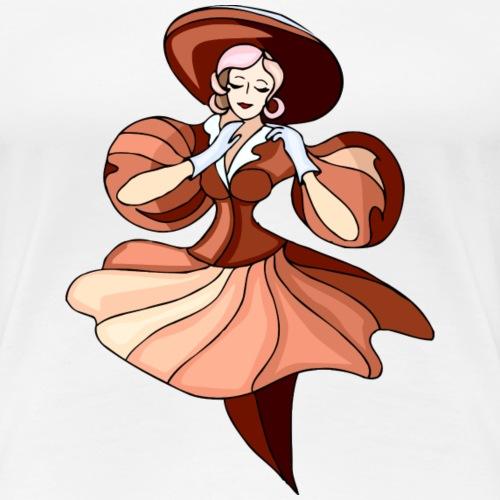 Bailarinas: Lady Brown - Camiseta premium mujer