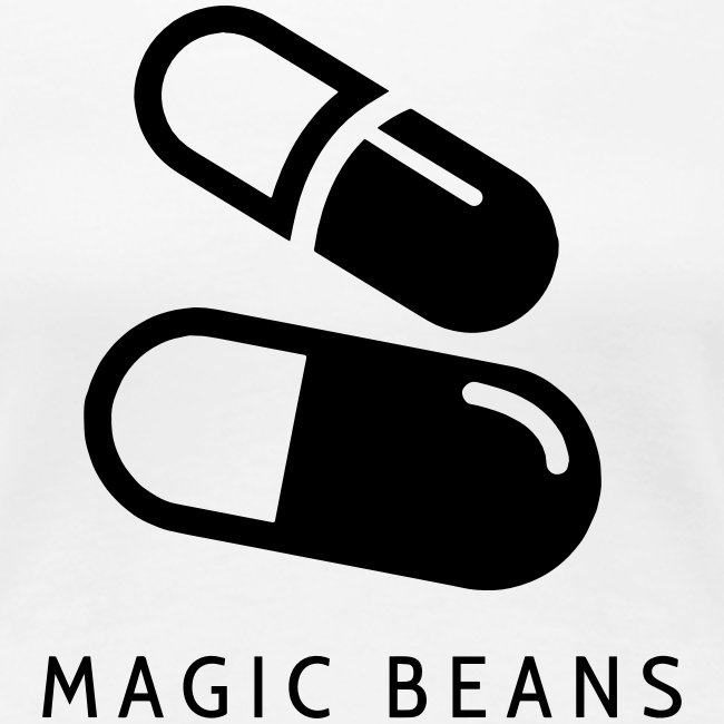 Magic Beans EP Design - Black