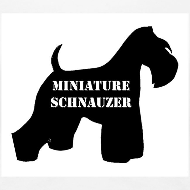 Miniature schnauzer logo