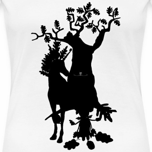 Foluni und Coma - Frauen Premium T-Shirt