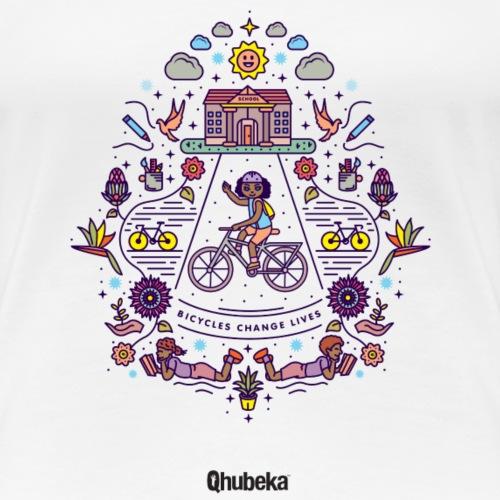 Illustration Shirt Colour - Women's Premium T-Shirt