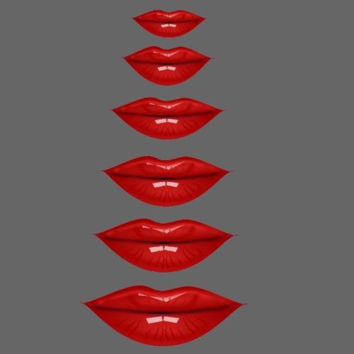 lèvres - T-shirt Premium Femme