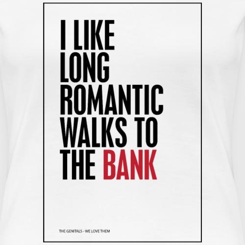 LONGWALK - Dame premium T-shirt